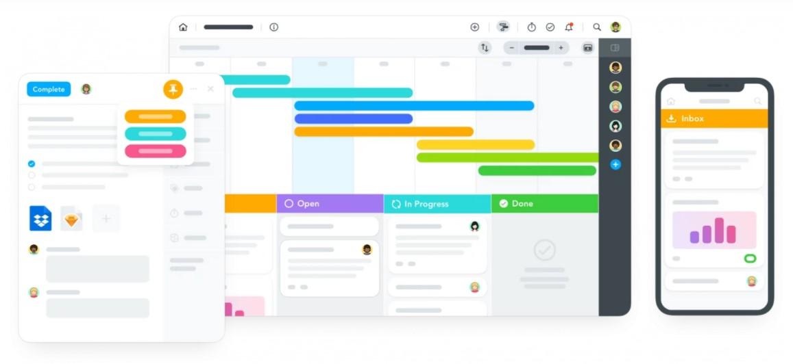 The MeisterTask UI